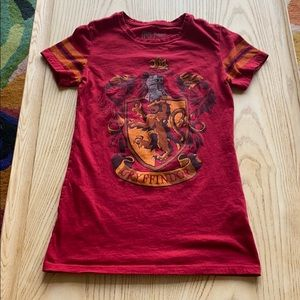 Harry Potter Gryffindor fitted women's tee